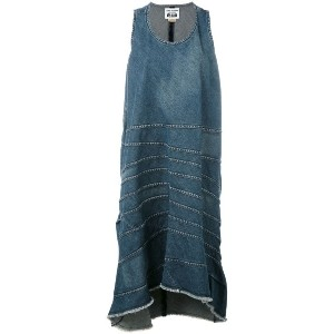 Junya Watanabe Comme Des Garçons - denim shift dress - women - コットン - S