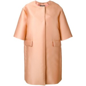 Max Mara - Satin Svelto coat - women - シルク/ポリエステル - 40