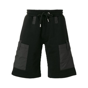 Les Hommes - side patch pockets sweatshorts - men - コットン - S