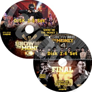 【KPOP DVD】?  SHOW ME THE MONEY3/4 11枚SET ? 【日本語字幕あり】? iKON アイコン WINNER ウィナー  ? 【iKON WINNER DVD】