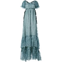 Erdem - shift maxi dress - women - シルク/ポリエステル - 10