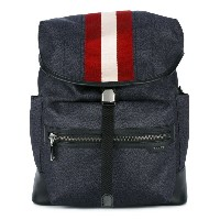 Bally - printed Tenzing backpack - men - レザー/ナイロン - ワンサイズ