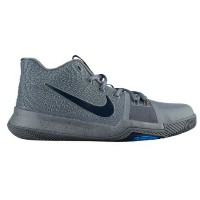 "Nike Kyrie 3 ""Cool Grey"" キッズ/レディース Cool Grey/Black/Anthracite/Polarized Blue ナイキ カイリー3 Kyrie Irving..."