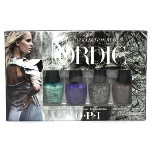 OPI Nordic Collection Little Northies - 4 pc Mini Pack - 4 Colors (並行輸入品)