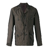 Paul Smith - notched collar jacket - men - キュプロ - L