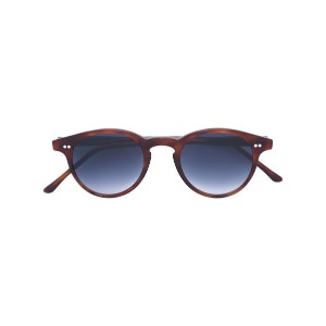 Cutler & Gross - round lens sunglasses - unisex - アセテート - 43