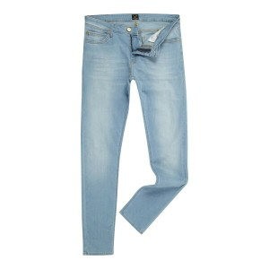 リー メンズ ボトムス ジーンズ【Lee Malone Light Wash Skinny Jeans】Denim Light Wash