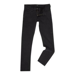 リー メンズ ボトムス ジーンズ【Lee Washed Black Skinny Jeans】Washed Black