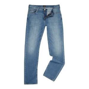 リー メンズ ボトムス ジーンズ【Lee Rider Slim Fit Jeans】Denim Light Wash