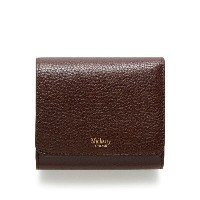 マルベリー メンズ アクセサリー 財布【Mulberry Tri-fold continental wallet】Ox Blood