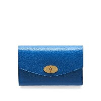 マルベリー レディース アクセサリー 財布【Mulberry Medium postman`s lock wallet】Porcelain Blue