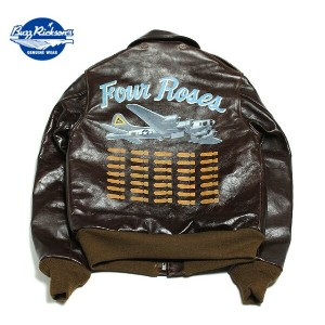 """No.BR80456 BUZZ RICKSON'S バズリクソンズA-2 No.23380 ROUGHWEAR CLOTHING CO.BACK PAINT""""FOUR ROSES"""""""