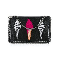 Stella McCartney - Falabella ice cream clutch - women - ポリエステル/metal - ワンサイズ