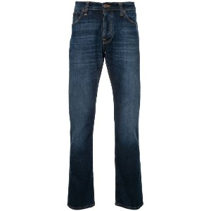 Nudie Jeans Co - Dude Dan tapered jeans - men - コットン/スパンデックス - 34/32