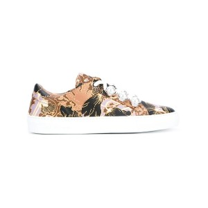 Carven - printed decorative lace trainers - women - レザー/rubber - 39