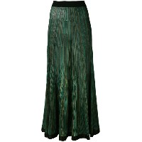 Sonia Rykiel - long knitted skirt - women - シルク/ビスコース - M