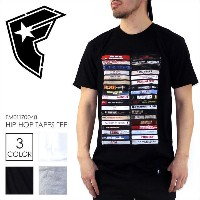 Tシャツ メンズ FAMOUS HIP HOP TAPES TEE - FM01170048 【 famous stars & straps フェイマス フォト プリント パンクロック ヒップホップ