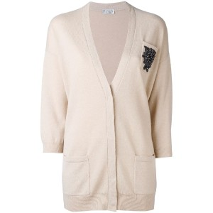 Brunello Cucinelli - embroidered cardigan - women - カシミア - S