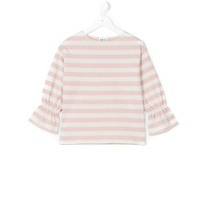 Douuod Kids - striped top - kids - コットン - 6歳