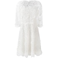 Ermanno Scervino - embroidered dress - women - シルク/ポリエステル - 44