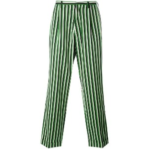 Walter Van Beirendonck - striped loose fit trousers - men - コットン/ウール - 48