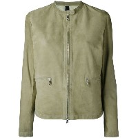 Giorgio Brato - zipped jacket - women - レザー/スエード - 46