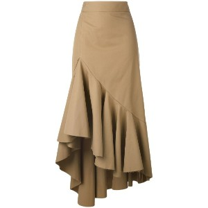 Erika Cavallini - asymmetric skirt - women - コットン - 44