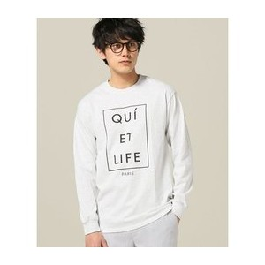 THE QUIET LIFE / クワイエットライフ: PARIS LONG SLEEVE ロンT【ジャーナルスタンダード/JOURNAL STANDARD Tシャツ・カットソー】