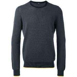 Fay - spot knit crew neck sweater - men - コットン - L