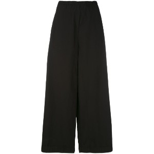 Humanoid - cropped wide-leg trousers - women - コットン - XL