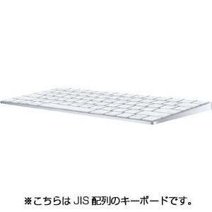 【キーボード】 APPLE Magic Keyboard (JIS) MLA22J/A・充電式 ・Bluetooth ・JIS配列 【975810】