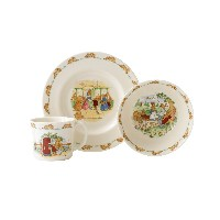 Royal Doulton Bunnykins 3-Piece Children's Set, Assorted Styles [並行輸入品]