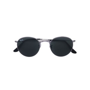Ray Ban Junior - round frame sunglasses - kids - アセテート - ワンサイズ