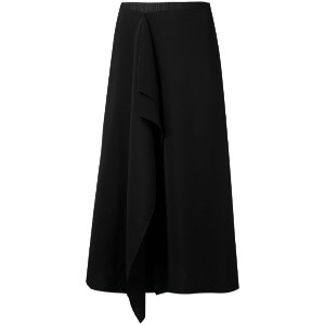 Carven - asymmetric skirt - women - ポリエステル/アセテート/Satin Ribbon - 34