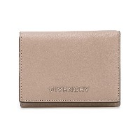 Givenchy - logo plaque wallet - women - ゴートファー - ワンサイズ