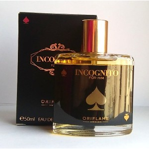 ORIFLAME Incognito For Him Eau De Toilette Natural Spray 50ml - 1.6oz