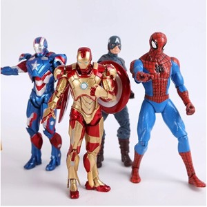 SingaporeThe Avengers Iron Man Captain America Spiderman joints can do hands-on ornaments model toys