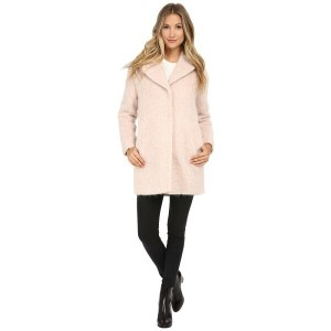 コールハーン Cole Haan レディース アウター コート【Cocoon Coat with Knotch Collar】Canyon Rose
