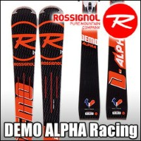 スキー板 Rossignol(ロシニョール) 【16/17・DEMO ALPHA (R21 RACING) + FCFA022 SPX 15 ROCKERFLEX White Icon】...