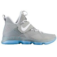 """Nike LeBron XIIIl 14 """"MAG""""キッズ Matte Silver/White/Glow ナイキ バッシュ レブロン・ジェームス"""