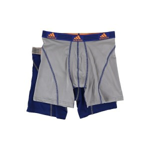 アディダス メンズ ブリーフパンツ アンダーウェア Sport Performance ClimaLite 2-Pack Boxer Brief Unity Ink/Light Onix/Light...