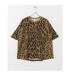 Sonny Label VOTE MAKE NEW CLOTHES 3D LEOPARD BIG T-SHIRTS【アーバンリサーチ/URBAN RESEARCH Tシャツ・カットソー】