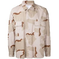 monkey time - camouflage print shirt - men - コットン - L