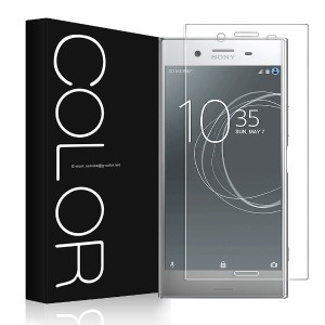 G-Color Sony Xperia XZ Premium フィルム Sony Xperia XZ Premium ガラスフィルム 旭硝子製 強化ガラス 液晶保護フィルム 防爆裂 0.2mm 硬度...