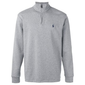 Polo Ralph Lauren - zipped collar sweatshirt - men - コットン - XL