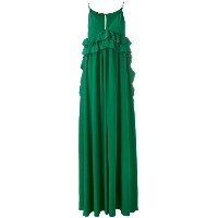 Rochas - ruffled maxi dress - women - シルク - 40