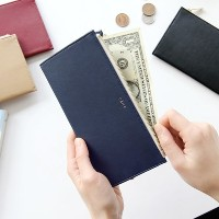 CAILY FLAT WALLET ケイリーフラット 財布 GMZ [made in Korea]