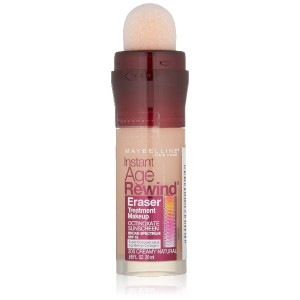 MAYBELLINE Instant Age Rewind Eraser Treatment Makeup Creamy Natural (並行輸入品)