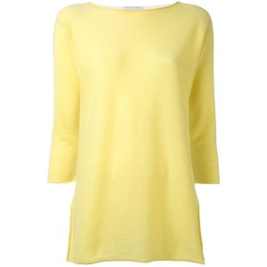 Fabiana Filippi - plain top - women - コットン/カシミア - 46