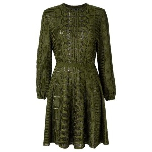 Gig - knit flared dress - women - Polyimide - P